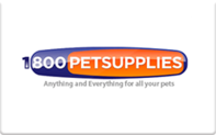 1-800 Pet Supplies gift card