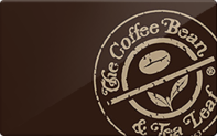 Coffee Bean & Tea Leaf gift card