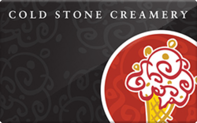 Cold Stone Creamery gift card