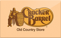 Cracker Barrel gift card