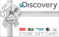 Discovery Channel Store gift card