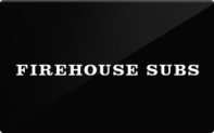 Firehouse Subs gift card