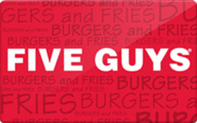 Five Guys gift card