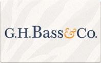 G.H. Bass & Co gift card