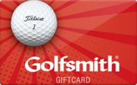 Golfsmith gift card