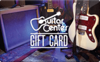 Guitar Center gift card