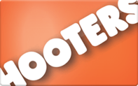 Hooters gift card