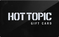 Hot Topic gift card