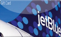 JetBlue Airline gift card