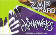 Journeys gift card