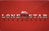 Lone Star Steakhouse gift card