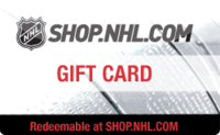 NHL Shop gift card