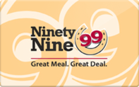 Ninety Nine gift card