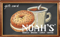 Noah's New York Bagels gift card