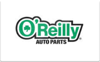 O'Reilly gift card