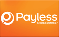 Payless Shoes gift card