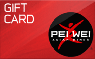 Pei Wei Asian Diner gift card