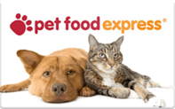 Pet Food Express gift card