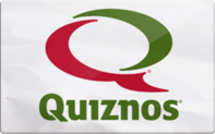 Quiznos gift card