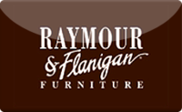 Raymour & Flanigan gift card