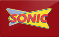 Sonic gift card