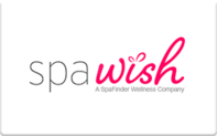 Spa Wish gift card