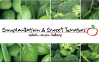 Sweet Tomatoes Souplantation gift card
