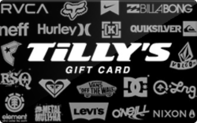Tilly's gift card