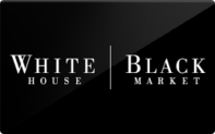 White House Black Market gift card